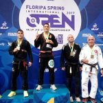 Alikate, Atleta da Green Power em primeiro lugar no podium do Floripa Spring International Open 2017!